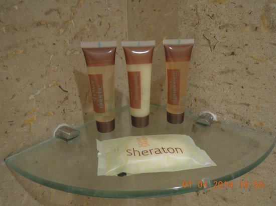 Royal Orchid Sheraton Hotel & Towers : Bath Amenities