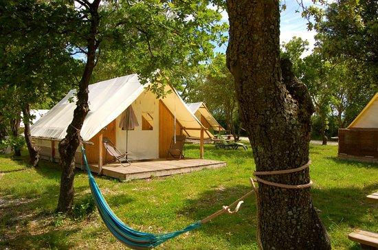 Lodges en Provence : Lodges toile/bois
