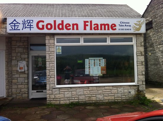 The Golden Flame: Golden flame Chinese take away
