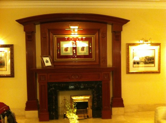 The Imperial Hotel: Fire Place