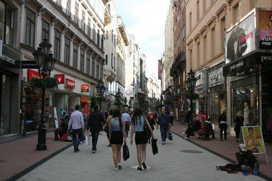 Vaci Street: vaci