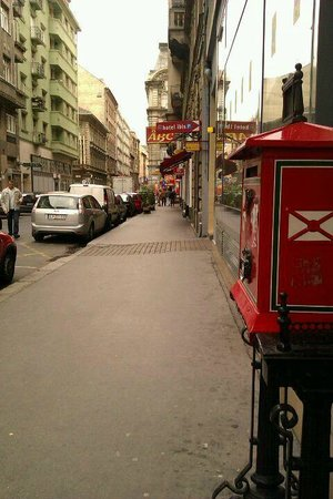 Ibis Budapest City : улица