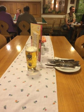 Hotel & Landgasthof Happinger Hof: ristorante