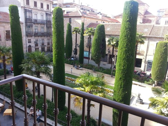 Salamanca Suite Studios: Blick aus dem Zimmer