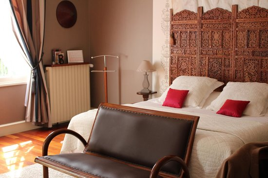Bagatelle, chambres d'hotes en Touraine : Colonel Chambert bedroom