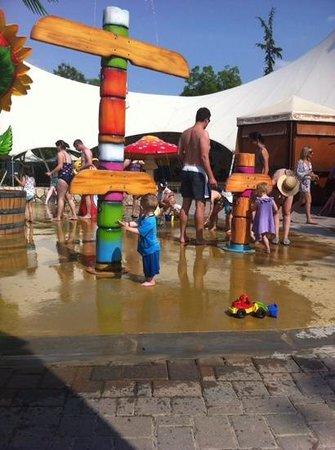 Camping Bella Italia: splash park