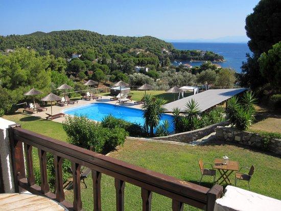 Kolios, Yunani: Balcony view