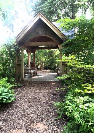 Missouri Botanical Garden : a spot to relax