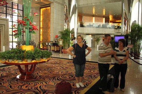 Gudu Wenhua Hotel: Холл отеля