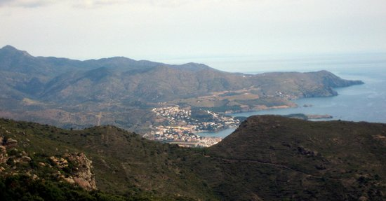 Monasterio de Sant Pere de Rodes: vistas