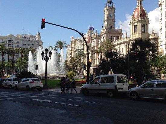 Ayuntamiento de Valencia : Town hall Valencia