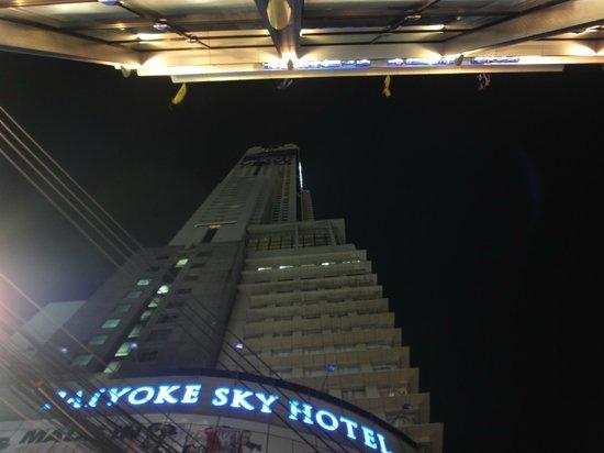 Budacco: Байок ночью вид снизу