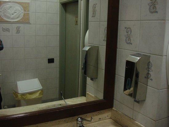 Ristorante Il Cavaliere : la toilette