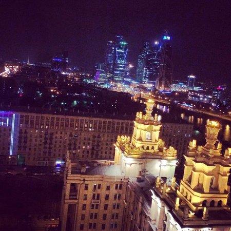 Radisson Royal Hotel Moscow: вид из окна 20 этаж