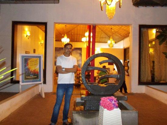 Estrela Do Mar Beach Resort: Reception Area