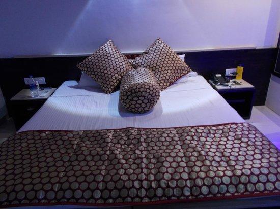 Estrela Do Mar Beach Resort : Comfortable Bed