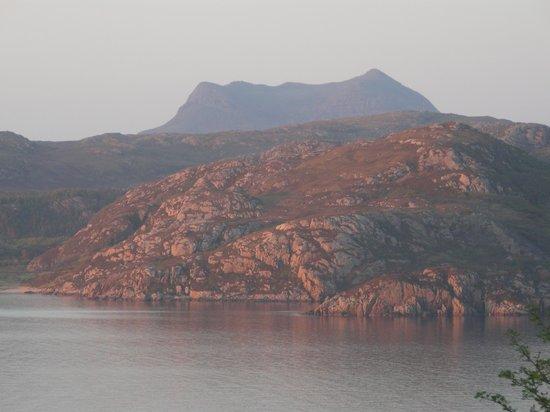 Gruinard Bay: Gruinard at sunset