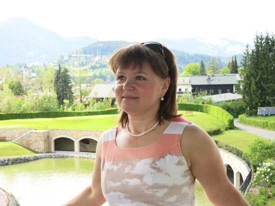 A-ROSA Resort Kitzbühel: На открытой террасе в баре