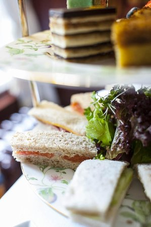 Dromoland Castle: Dromoland Afternoon Tea- Sandwiches