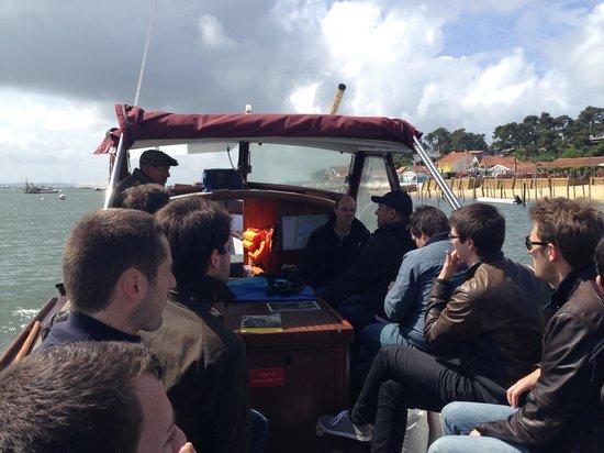 Les Pinasses du Bassin d'Arcachon  Tours : Pinasse entre amis