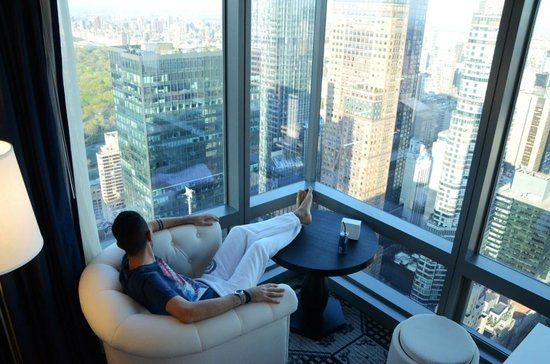 Enjoying the view from 65th floor picture of residence for Residence a manhattan new york