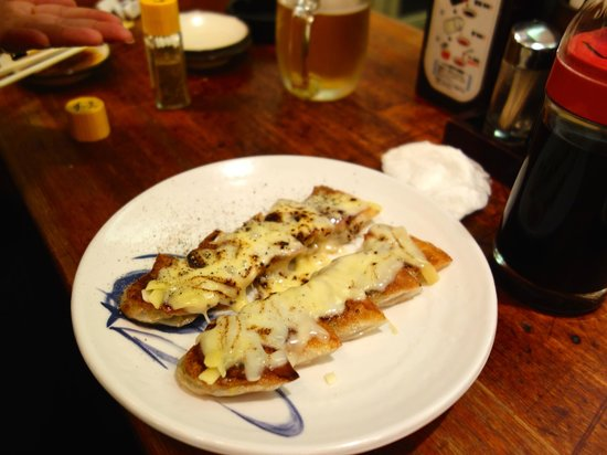 Senmonten: cheese gyoza!
