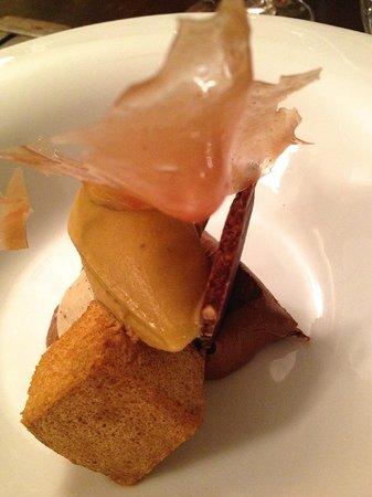 Restaurante A Tafona: Chocolate, praliné e café