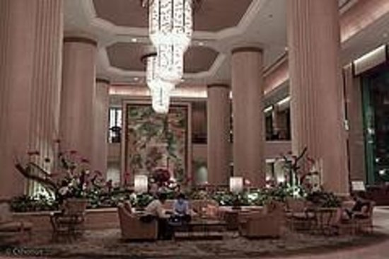 Shangri-La Hotel, Singapore: Lobby cafe