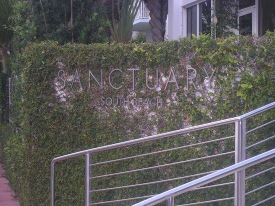 Sanctuary South Beach: Eingangsbereich