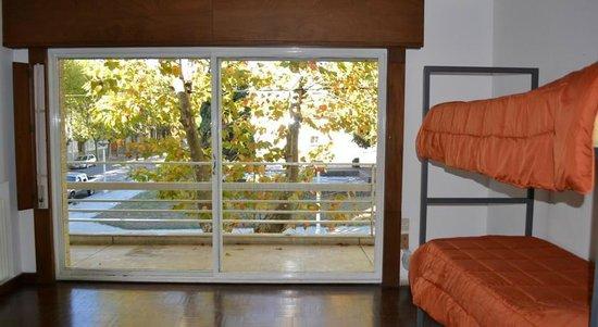 Sur Hostel : habitaciones amplias y luminosas