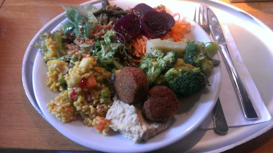 Tibits: £11-12 plate of veggie yummyness!
