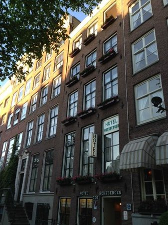 Hotel Hoksbergen: façade hôtel