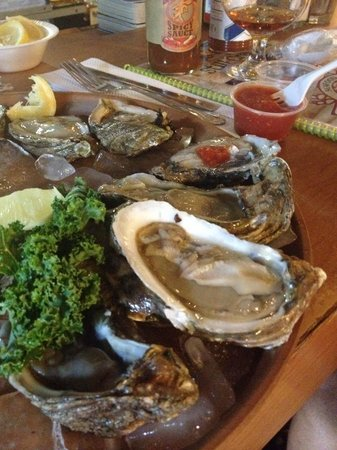 Rustic Inn Crabhouse : Oysters on the half shell