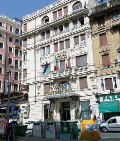 Außenansicht Hotel Continental