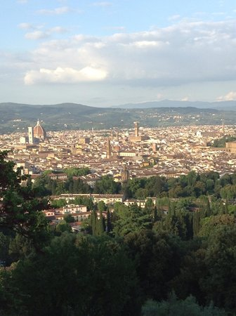 Torre Di Bellosguardo : View of Florence from the hotel