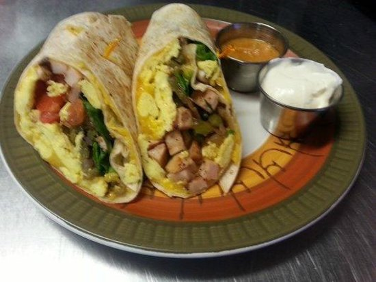 Crow Hill Cafe: Breakfast burrito only $4