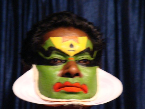 Mudra Cultural Centre: The Main Character during his make-up i.e. Chutty