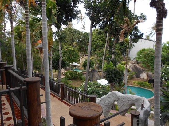 Panviman Resort - Koh Pha Ngan: View from our room