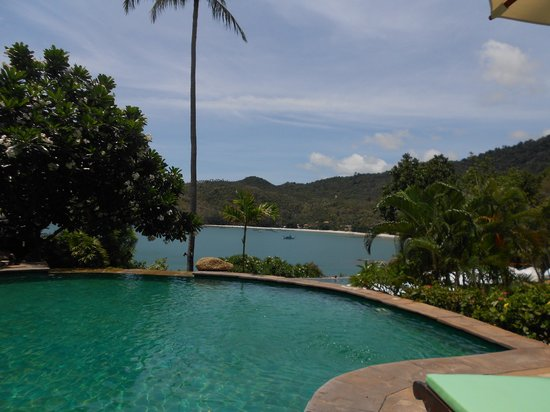 Panviman Resort - Koh Pha Ngan: One of the small pools