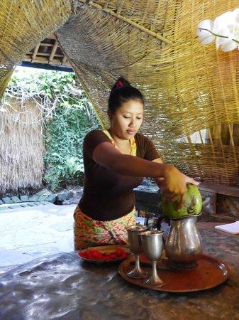 Bambu Indah: Welcome drinks