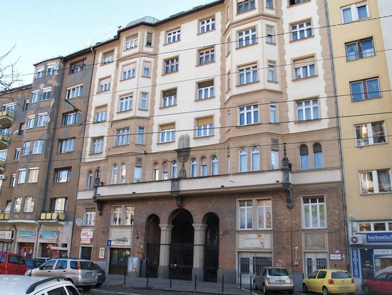 Leo Frankel Synagogue: Hidden synagoge - not easy to find