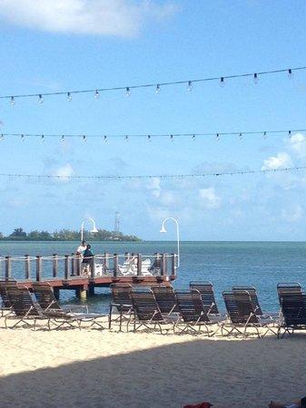 Key West Marriott Beachside Hotel : View of pier
