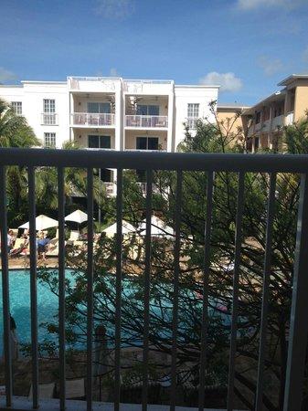 Key West Marriott Beachside Hotel : Balcony view from room 428