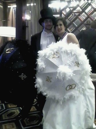 JW Marriott New Orleans: The newly weds