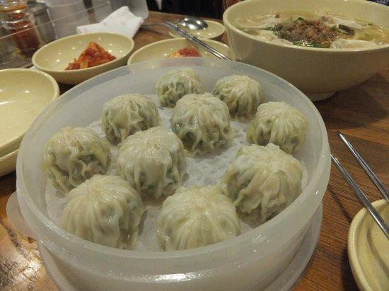 Myeongdong Kyoja Main : Mandu (dumplings)