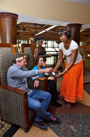 The Kingdom at Victoria Falls: THE KINGS CLUB - Royal express check in and welcome