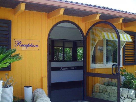 Residence Kamarina : reception