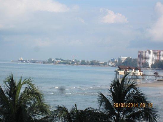 Corus Paradise resort: Sea view from the resort