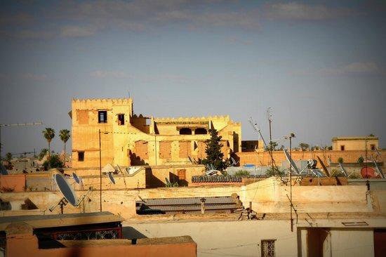 Un Déjeuner à Marrakech : view from the terrace