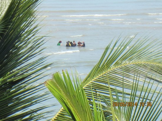 Corus Paradise resort: Beautiful sea view from room